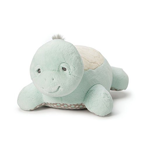 Nat and Jules Doleful Smiling Taddles Turtle Spotted Blue Children's Plush Stuffed Animal