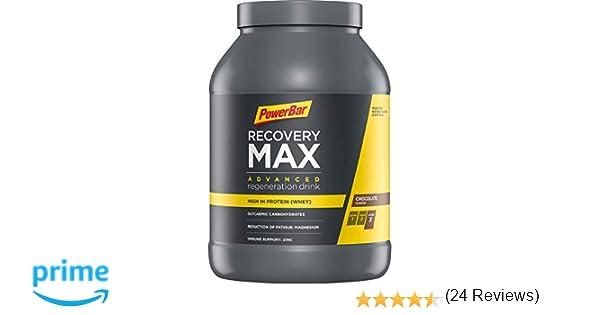 Powerbar Recovery Max Chocolate Bebida de Proteínas Whey e ...