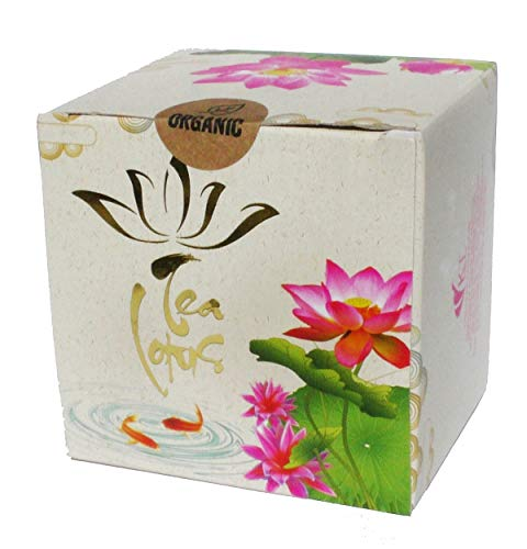 - Lotus Blossom Herbal Tea Organic Dried Whole Flower - 5 Blossoms per Box