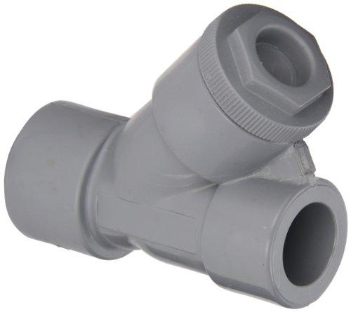 Hayward CPVC Y-Strainer, FPM Seal, 1/2'' Socket by Hayward Flow Control
