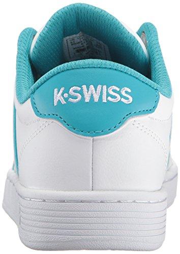 K-swiss Donna Corte Pro Ii Sp Cmf Fashion Sneaker Bianco / Blu Pavone