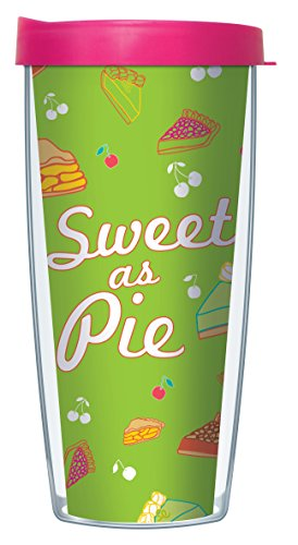 Sweet As Pie 16 Oz Traveler Tumbler Mug with Lid