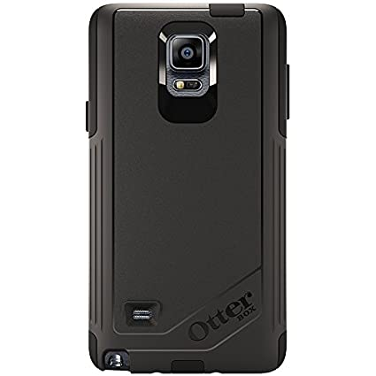 OtterBox Samsung Galaxy Note 4 Case Commuter Series - Retail Packaging -  Black