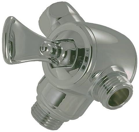 Alsons 49293110PK Flip Lever Three-Way Shower Arm Diverter, Brilliance Satin Nickel (Alsons Hand Shower Parts)