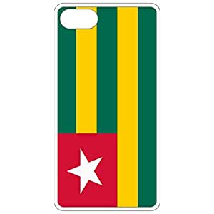 Togo Flag White Apple Iphone 6 (4.7 Inch) Cell Phone Case - Cover