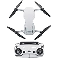 Drone Fans Mavic Air Stickers Battery Decal Remote Controller Skin Full Set Drone Body Sticker for DJI (White)