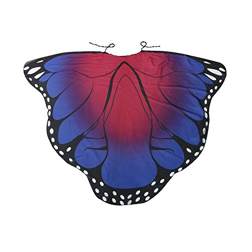 LUCA Butterfly Wing Cape Shawl Adult Women Halloween