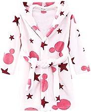 Happy Cherry Baby Toddler Unisex Flannel Robes Cartoon Cute Plush Sleep Bathrobe