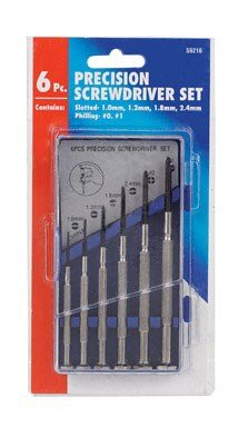 Best Way Tools Precision Screwdriver Set Phillips, Slotted 1/32