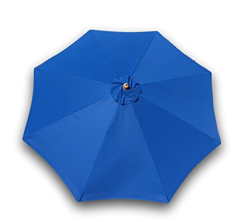 Formosa Covers 9ft Umbrella Replacement Canopy 8 Ribs in Royal Blue (Canopy Only) Review