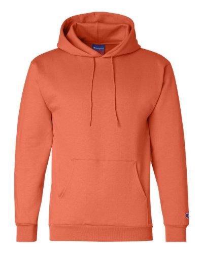 Champion Double Dry Men`s Action Fleece Pullover Hood Orange