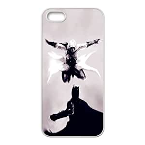 DIY Stylish Printing Assassin's Creed Cover Custom Case For iPhone 5, 5S MK0Q423183