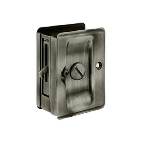 Deltana SDLA325U15A Adjustable 3 1/4-Inch x 2 1/4-Inch Privacy HD Pocket Locks