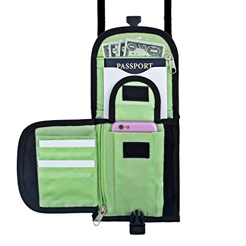 Travel Document Organizer Reliable & Easy To Carry, Well Organized Travel Wallet In A Great Size