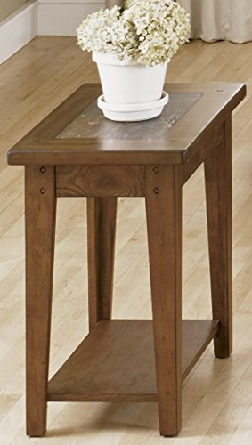 Liberty Furniture Industries 382-OT1021 Hearthstone Chair Side Table, 15