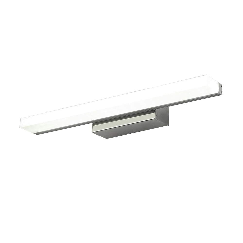 AFSEMOS Vanity Light 8W 15.74inches LED Acrylic Rectangle Tube Cool White 6000K for Bathroom/Bedroom Vanity Light