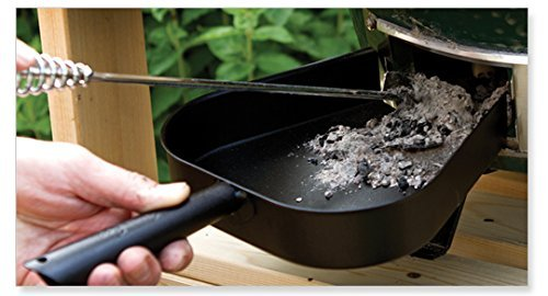 Ash Pan and Ash Tool Combo Pack for Big Green Egg All Natural Charcoal Grills