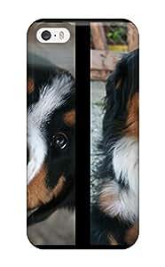 Premium Durable Bernese Mountain Dog Fashion Tpu Iphone 5/5s Protective Case Cover