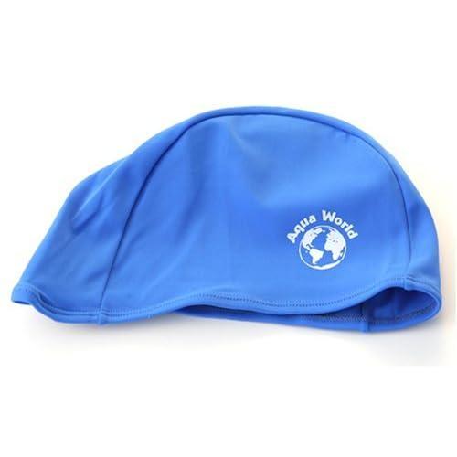 Chapeau de bain de Lycra - bleu [Divers.]