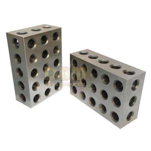 4' Block (One Pair 2 4 6 Precision Blocks 23 Holes Set of 2 PCS)