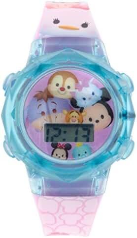 Disney Girl's 'Tsum' Swiss Automatic Plastic Casual WatchMulti Color (Model: TSTSKD16005FL)