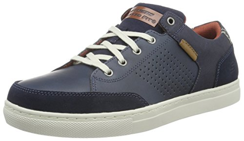 Skechers Elvino-Lemen, Zapatillas de Deporte para Hombre Nvy