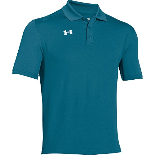Under Armour Men's Team Armour Polo (Large, Coastal Green)