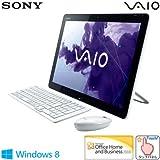ソニー(VAIO) VAIO Tap 20 (W8 64/Ci5/WXGA++/タッチ/4G/外付けBDXL/1T/WLAN/BT/Office) ホワイト SVJ20218CJW