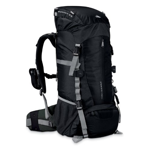 High Sierra Classic Series 59201 Summit 45 Internal Frame Pack Black 27x14x7.5 inches 2750 Cubic Inches 45 Liters, Outdoor Stuffs