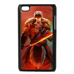 iPod Touch 4 Case Black Dota2 DRAGON KNIGHT 82You399385