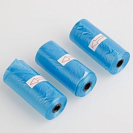 Bolsa caca perro Dog Pet Waste Poop Bags 15 por rollo Incluye (72 rollos de 15 bolsas) TOTAL 1080 BOLSITAS