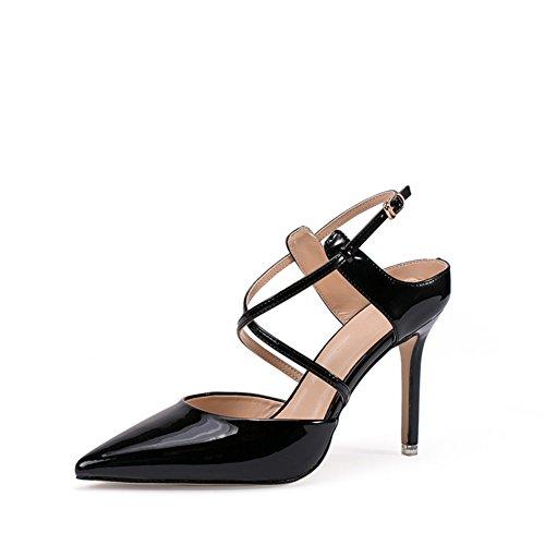 PUMPS Sandale,Weibliche Koreanische Version der High Heels und Fine Heels-A Fußlänge=22.3CM(8.8Inch)