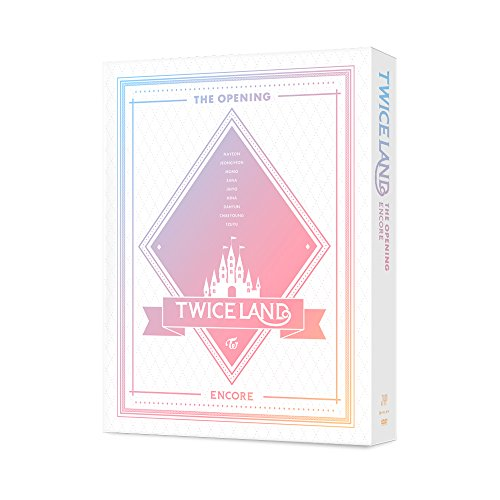 JYP Twice - TWICELAND The Opening Encore DVD 2Disc+Photobook+9Photocards+Lenticular+On Pack Mini Poster