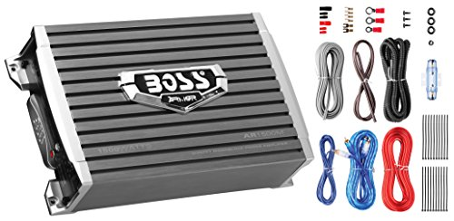 Boss Audio Systems AR1500MK 1500W Monoblock Amplifier, 8 Gauge Amplifier Installation (Rms Mono / Stereo)