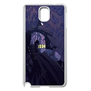 Unique Design -ZE-MIN PHONE CASE For Samsung Galaxy NOTE4 Case Cover -Batman Super Hero Pattern 4