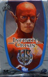 DC VS System Trading Card Game Infinite Crisis Booster Pack 14 Cards