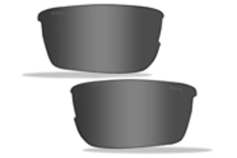 3fc2b32ad7 Image Unavailable. Image not available for. Color  Wiley X WX SAINT Black  Ops   Smoke Grey Lenses (CHSAIS)