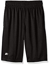 Starter Boys' Mesh Short with White Logo