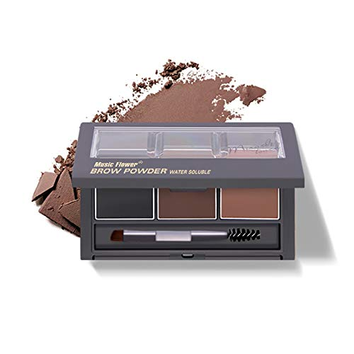 Music Flower Eyebrow Powder Brown Natural