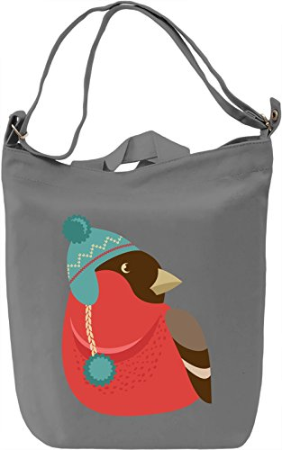 Birdy Borsa Giornaliera Canvas Canvas Day Bag| 100% Premium Cotton Canvas| DTG Printing|