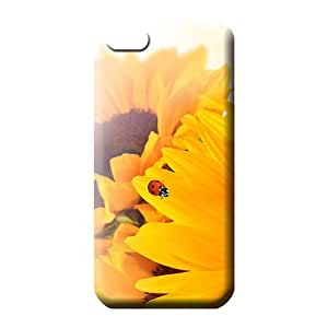 iphone 4 4s Series Scratch-free Protective phone cover case sunflower ladybug fun