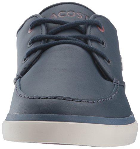 Lacoste Mens Sevrin 417 1 Sneaker Blu Scuro