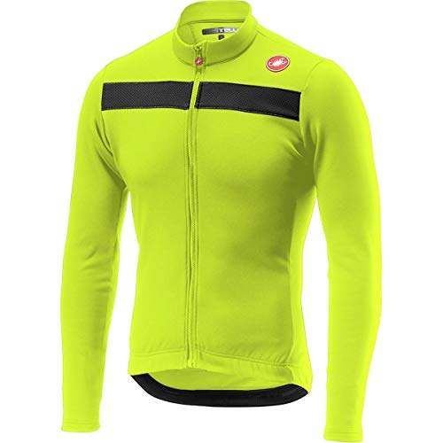 Castelli Puro 3 Jersey - Men's Yellow Fluo, ()