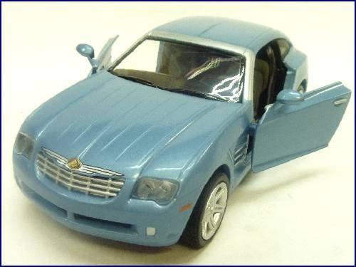 NewRay1/32ダイキャストモデルミニカー/ クライスラークロスファイア(ブルー)