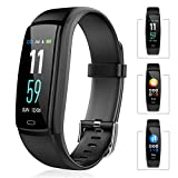 Fitness Tracker with Heart Rate Monitor,Color Screen Waterproof Smart Watch,Activity Tracker Smart Bracelet