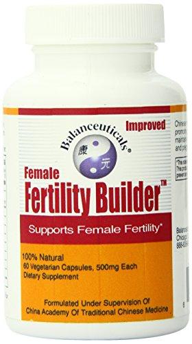 - Balanceuticals Female Fertility Builder Supplement, 60 Count