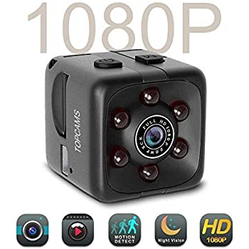 Drone Office Spy Camera Wireless Hidden Gupacido Hidden Camera Mini Camera With 32GB TF Card// Card Reader HD 1080P//720P Wireless Small Portable Night Vision Motion Detection Spy Cam for Home Car
