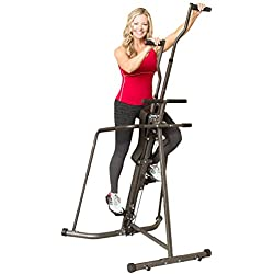 Body Champ BCR890 Cardio Leisa Hart Vertical Stepper Climber / Includes Assembly Video, Meal Plan Guide, Workout Video access