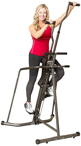 Body Champ Leisa Hart Cardio Vertical Stepper Climber / Includes Assembly Video, Meal Plan Guide, Workout Video access BCR890