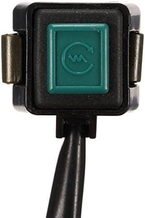 8Inch 22Mm Manillar De La Motocicleta Motor Start Horn Kill Bot/ón Interruptor Verde Alamor 7